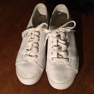 Women's white leather Keds size 6